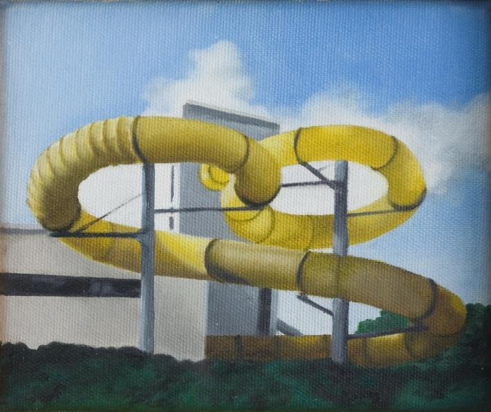 pintura toboaguas amarelos thiago bortolozzo