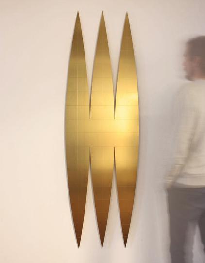 escultura em cobre