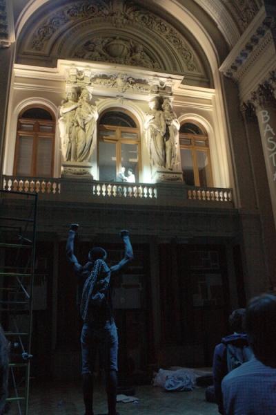 teatro na bolsa de bruxelas revolution