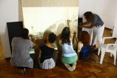 Aula prática de desenho e pintura