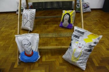 sacos e arte
